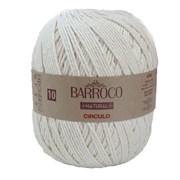 Linha Para Crochê ou Tricô - Barroco Natural 10 - 474 metros - 100% Algodão - Círculo