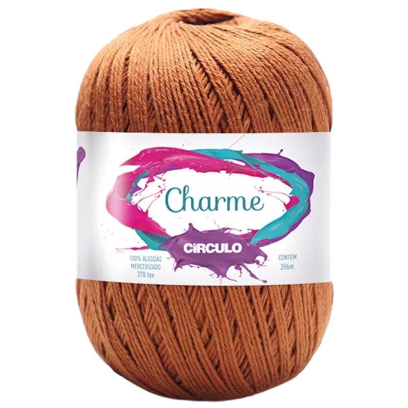 Linha Para Crochê ou Tricô - Charme - 396 metros - 100% Algodão - Círculo