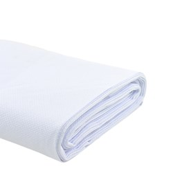 Tecido Etamine - Branco - 140cm x 100cm - Circulo