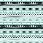 Tecido Tricoline Para Artesanato - 3035 - Ossos - 100cm x 150cm - Peripan