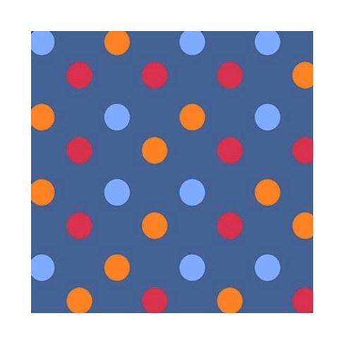 Tecido Tricoline Para Artesanato - 4074 - Poá - 100cm x 150cm - Peripan
