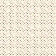 Tecido Tricoline Para Patchwork - 6506 - Estrelinhas Tricolores Com Rosa - 50cm x 150cm - Fabricart