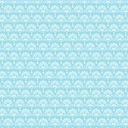 Tecido Tricoline Para Patchwork - 8306 - Chandelier Azul Brisa - 50cm x 150cm - Fabricart