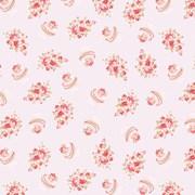 Tecido Tricoline Para Patchwork - 8311 - Cupcake Flower Rosa Cotton - 50cm x 150cm - Fabricart