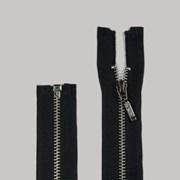 Zíper de Metal - Destacável - Niquel - 55cm - Pingente Palito - 1un - VMH