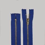 Zíper de Metal Médio - Fixo - Dourado - 18cm - Importado - 10 Unidades