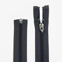 Zíper de Nylon - Destacável - Engate Rápido - Importado - 75cm - Pacote com 10 Unidades - VMH
