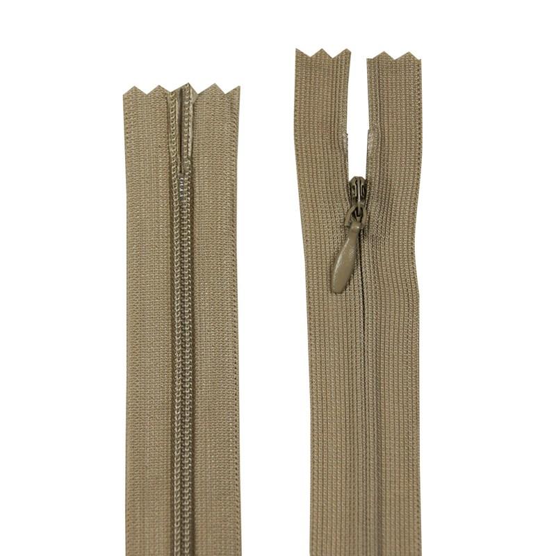 Zíper Invisível - Fixo - Importado - 40cm - 1un - VMH